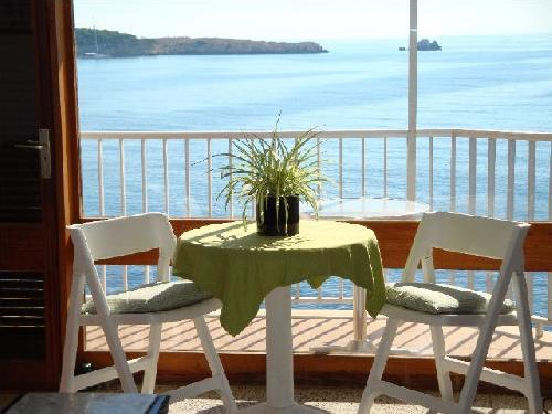 - Firstline beach, holiday accommodation, sea view, sleeps 4, Cala Ratjada, Majorca