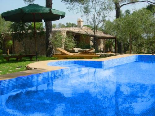 - Newly built stone finca, very quiet, swimming pool in Canyamel, Mallorca