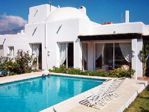 villa ibiza with private swimming pool in rodeito to rent costa del sol west part andalucia spain ibizastyle villa with bedrooms swimming pool
