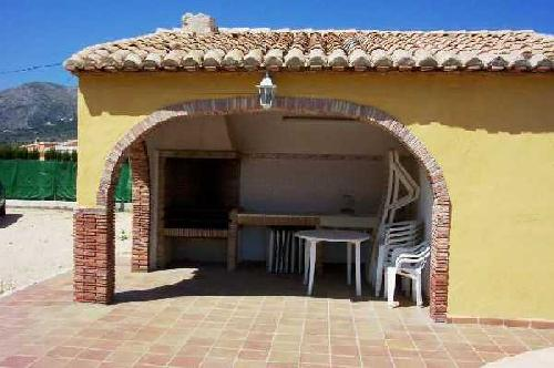 - Holiday villa with 3 bedrooms, private pool and sea view to rent in Denia, Costa Blanca, Spain