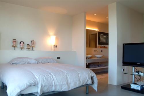 - Modern designer villa with swimming pool in Aigua Gelida, Tamariu, Costa Brava for holiday rental